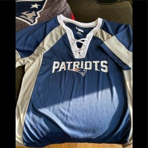 ❤️ New England Patriots Jersey Style Top❤️